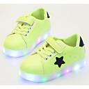 ieftine Pantofi Băieți-Băieți Pantofi PU Primăvară / Toamnă Confortabili Adidași pentru Negru / Verde / Roz