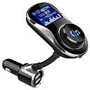 זול משדר FM לרכב/MP3 לרכב-bc26 מתאם אלחוטי Bluetooth 4.1 מקלט מוסיקה אלחוטית fm משדר דיבורית לרכב ערכת LCD להציג מטען USB לטלפון