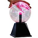 זול ערכות מדע וחקר-כדור פלזמה מדע ומחקר נושא קלאסי צעצועים מוזרים עם חיישן קול עיצוב חדש זכוכית ABS בנות מתנות 1pcs