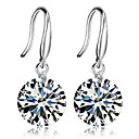 cheap Earrings-Women's Cubic Zirconia Drop Earrings - Zircon Classic, Fashion Silver For Daily Ceremony