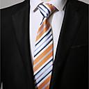זול אספקה למסיבות-עניבת צווארון - פסים יום יומי בגדי ריקוד גברים
