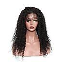 זול כרטיסי זכרון-שיער אנושי חזית תחרה פאה שיער מונגולי Kinky Curly פאה 120% צפיפות שיער עם שיער בייבי שיער טבעי בגדי ריקוד נשים קצר בינוני ארוך פיאות תחרה משיער אנושי CARA / קינקי קרלי