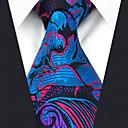 abordables Anillos para Hombre-Hombre Corbata - Fiesta / Trabajo Floral / Arco iris / Jacquard