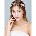 cheap Party Headpieces-Alloy Headbands with Ribbon Bow / Crystal / Pearl 1pc Wedding / Party / Evening Headpiece