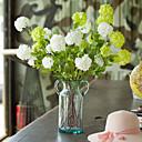 זול סנדלים לגברים-פרחים מלאכותיים 1 ענף סגנון ארופאי / פסטורלי סגנון הורטנזיות פרחים לשולחן