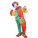 cheap RC Cars-Burlesque Clown Circus Cosplay Costume Party Costume Men's Women's Carnival Festival / Holiday Halloween Costumes Rainbow Color Block