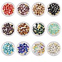 זול אבן נוצצת&קישוטים-קישוטים מסמר אמנות עיצוב ריינסטון / אופנתי יומי