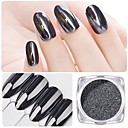 abordables Purpurina para Manicura-1pc Brillante arte de uñas Manicura pedicura Clásico Diario