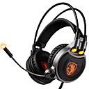 preiswerte Headsets und Kopfhörer-SADES R1 Stirnband Mit Kabel Kopfhörer Dynamisch Kunststoff Spielen Kopfhörer Headset