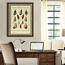 זול מדבקות קיר-חיות טבע דומם איור וול ארט,PVC חוֹמֶר עם מסגרת For קישוט הבית אמנות מסגרת סלון חדר שינה מטבח חדר אוכל חדר ילדים Office