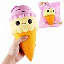 cheap Magnet Toys-LT.Squishies Squeeze Toy / Sensory Toy / Stress Reliever Food&Drink / Ice Cream Relieves ADD, ADHD, Anxiety, Autism / Office Desk Toys /