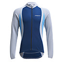 cheap Running Shirts, Pants & Shorts-Jaggad Men's Long Sleeve Cycling Jersey Bike Jersey, Thermal / Warm, Quick Dry, Breathable Polyester