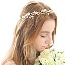 baratos Acessórios de Cabelo-Liga Headbands com Pétala 1pç Casamento / Ocasião Especial Capacete