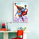tanie Sztuka oprawiona-Oprawione płótno / Zestaw w oprawie - Zwierzęta / Kreskówki PVC (polichlorek winylu) Ilustracja