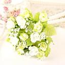 tanie Sztuczne kwiaty-Sztuczne Kwiaty 2 Gałąź Styl pasterski Róże Bukiety na stół