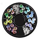 olcso Körömékszerek-1 pcs Díszítések Hegyikristály / Divat Cuki / Többszínű / Szeretetreméltő Napi Körömművészeti tervezés