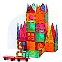 זול בלוקים מגנטיים-אריחים מגנטיים אבני בניין 60 pcs ארכיטקטורה טרנספורמבל סגנון וינטאג' בנים בנות צעצועים מתנות