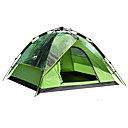 cheap Tents, Canopies & Shelters-DesertFox® 4 person Backpacking Tent Double Layered Automatic Dome Camping Tent Outdoor Waterproof, Rain-Proof for Camping 2000-3000 mm Oxford