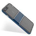 זול מגנים לטלפון & מגני מסך-מגן עבור Apple iPhone 8 Plus iPhone 7 Plus עמיד בזעזועים שקוף קווים / גלים רך ל