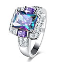 cheap Rings-Women's Synthetic Amethyst Band Ring - Classic, Vintage, Elegant 7 / 8 / 9 For Wedding Party Daily