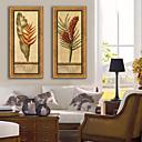cheap Tattoo Ink-Botanical Floral/Botanical Illustration Wall Art,Plastic Material With Frame For Home Decoration Frame Art Living Room Indoor