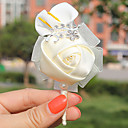 "olcso Esküvői virágok-Esküvői virágok Virágkitűzők Esküvő Party Szatén 2,76"" (Kb. 7 cm)"