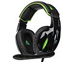זול Headsets & Headphones-Supsoo G813 רצועת ראש חוטי אוזניות דִינָמִי פלסטי גיימינג אֹזְנִיָה עם מיקרופון אוזניות