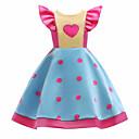זול שמלות לבנות-בנות פעיל מכנסיים - אחיד / מנוקד / פרחוני פפיון / סגנון לב / נושא אגדות פול / כותנה / חמוד / ליציאה / דפוס