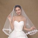 זול אביזרים לגברים-שכבה אחת מסוגנן הינומות חתונה צעיפי מרפק עם פולי