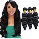 זול מתנות לחתונה-3 חבילות שיער ברזיאלי גלי משוחרר שיער בתולי טווה שיער אדם שוזרת שיער אנושי תוספות שיער אדם