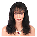 cheap Human Hair Wigs-Virgin Human Hair Lace Front Wig Brazilian Hair Body Wave Wig With Baby Hair 130% Natural Hairline Women's Mid Length Human Hair Lace Wig