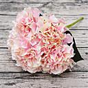 זול פרחים מלאכותיים-פרחים מלאכותיים 1 ענף פסטורלי סגנון הורטנזיות פרחים לשולחן