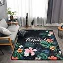 baratos Tapetes-Os tapetes da área Modern Entrelaçado / Flanela, Avião / Rectângular Qualidade superior Tapete / Latex Non Skid