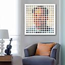 رخيصةأون رسومات زيتية-تجريدي الناس توضيح جدار الفن,البلاستيك مادة مع الإطار For تصميم ديكور المنزل الفن الإطار غرفة الجلوس