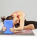 hesapli Minderler-Yoga Blokları 1 pcs Yüksek yoğunluklu, Neme dayanıklı, Hafif EVA Destekler ve Derinlemesine Pozlar, Yardım Dengesi ve Esneklik İçin Pilates / Fitness / Jimnastik Yeşil, Mavi, Pembe