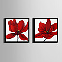 cheap Wall Art-Floral/Botanical Illustration Wall Art,Plastic Material With Frame For Home Decoration Frame Art Living Room Indoor