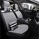 זול Rear View Monitor-כיסויי למושבים לרכב משענת ראש & ערכות מותן כרית בד פוליאסטר עבור אוניברסלי כל השנים כל הדגמים