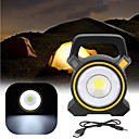 cheap Flashlights & Camping Lanterns-Flood Lights Portable Lights LED Solar Lights Emergency Lighting Plastic Outdoor for Camping Yellow Dark Grey