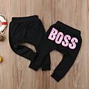 זול חולצות לבנות-מכנסיים כותנה אביב סתיו שרוול ארוך יומי ליציאה אחיד דפוס יוניסקס פשוט יום יומי לבן ורוד מסמיק