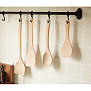 ieftine Puzzle Lemn-Ustensile de bucătărie Lemn Portabil spatula 4 buc