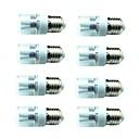 billige USB-kabler-8pcs 3W 200lm E14 G9 GU10 E26 / E27 E12 LED-kornpærer T 6 LED perler SMD 5730 Dekorativ Varm hvit Kjølig hvit 85-265V