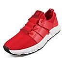 זול נעלי ספורט לגברים-בגדי ריקוד גברים PU אביב / סתיו נוחות נעלי אתלטיקה ריצה שחור / אדום
