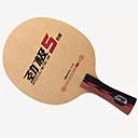 preiswerte USB Kabel-DHS® POWER.G5 FL Ping Pang/Tischtennis-Schläger tragbar Langlebig Hölzern Kohlefaser 1