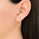 cheap Earrings-Women's Stud Earrings - Fashion Gold / Silver / Rose Gold For Daily Holiday