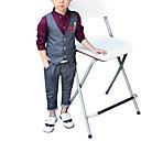 זול צמידי גברים-סט של בגדים ללא שרוולים אחיד פשוט בנים פעוטות