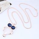 preiswerte Modische Halsketten-Damen Lang Anhängerketten - Eule, Tier Europäisch, Modisch Gold Modische Halsketten Schmuck Für Party