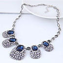 cheap Bracelets-Women's Geometric Statement Necklace - Vintage, European, Fashion Dark Blue Necklace Jewelry For Party