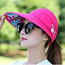 זול צמיד אופנתי-כובע שמש - אחיד חרוזים בגדי ריקוד נשים / בד / קיץ