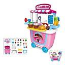 זול צעצועי מקצועות ומשחקי תפקידים-משפחה גלידה אינטראקציה בין הורים לילד פלסטיק ABS סוג א' בגדי ריקוד ילדים תינוק צעצועים מתנות 31 pcs