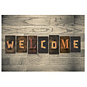 tanie Maty i dywany-Rustykalny Maty łazienkowe Drewno Kreatywne Prostokątna Antypoślizgowy